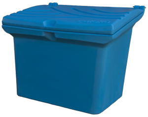 Pojemnik na sól i piasek 120l niebieski