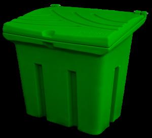 Pojemnik na piasek i sól 160L zielony