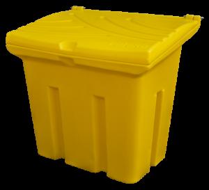 Pojemnik na piasek i sól 160L żółty