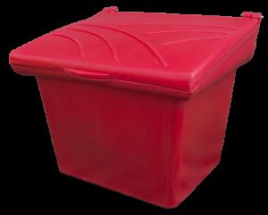 Pojemnik na piasek i sól 250L czerwony