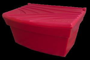 Pojemnik na piasek i sól 300L czerwony