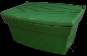 Pojemnik na piasek i sól 300L zielony