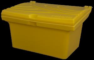 Pojemnik na piasek i sól 80L żółty