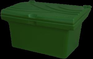 Pojemnik na piasek i sól 80L zielony